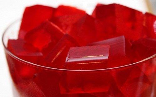 Recepten met gelatine en rode wijn