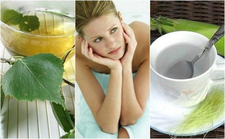 Bestrijd een blaasontsteking op natuurlijke wijze met deze 5 theeën