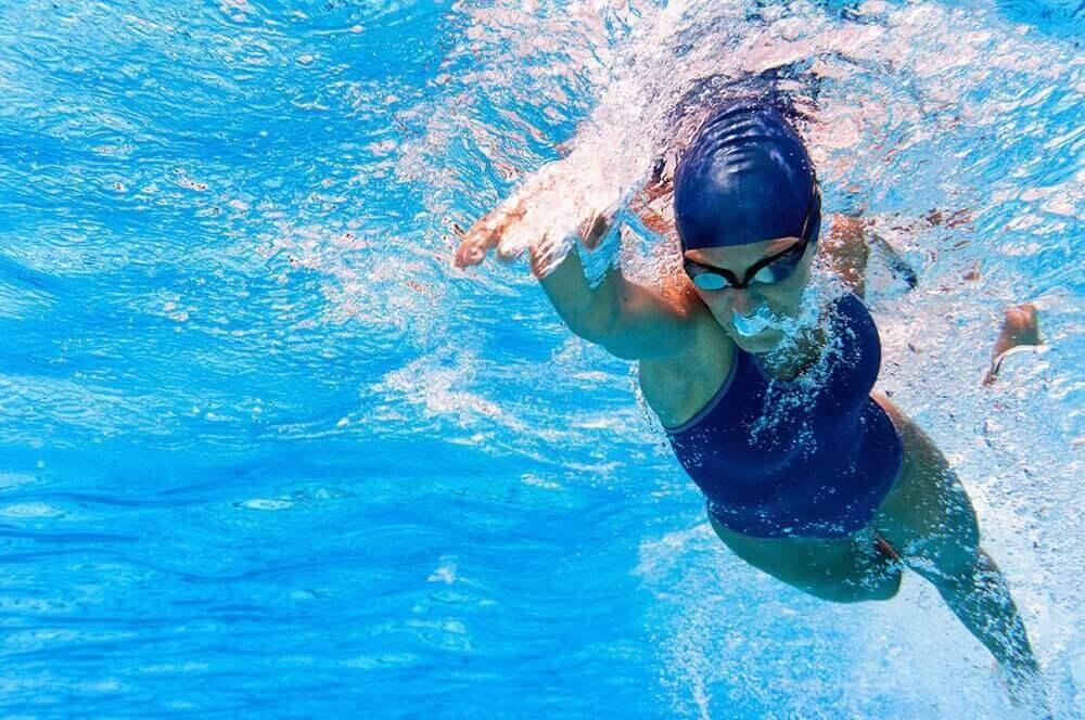 Zwemmen helpt je hartfunctie