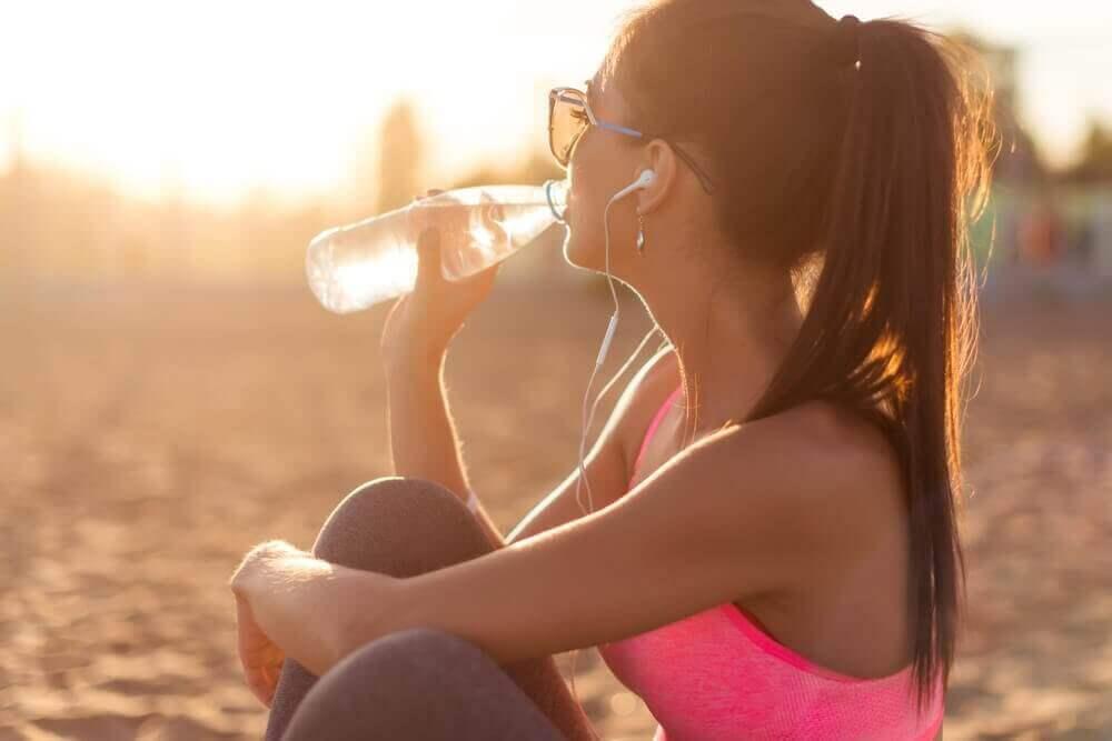 Hydratatie van de huid