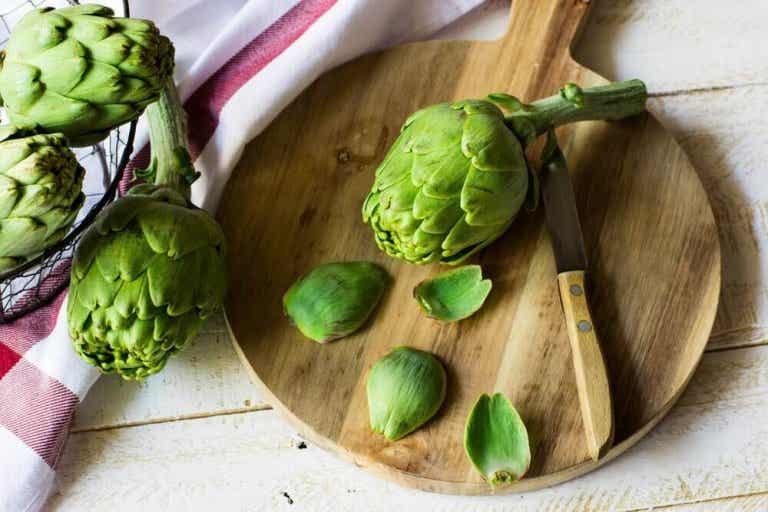 3 heerlijke recepten met artisjokken om gewicht te verliezen