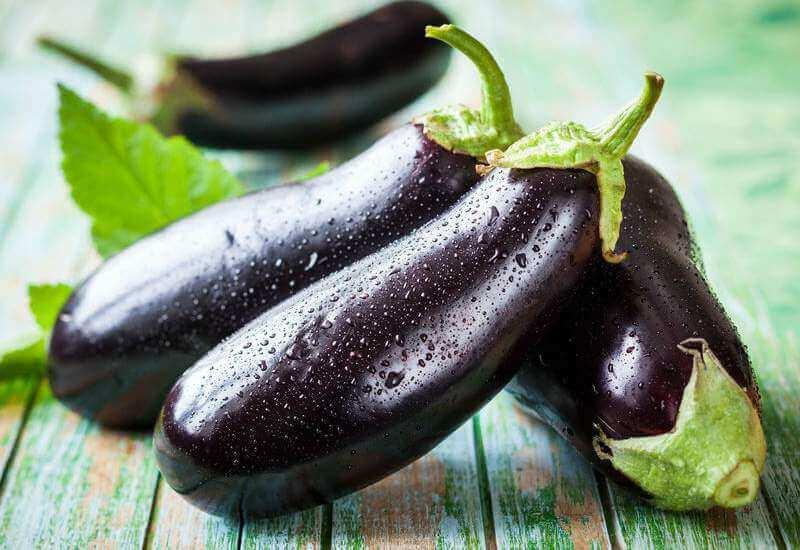 Gewichtsverlies bevorderen met aubergine
