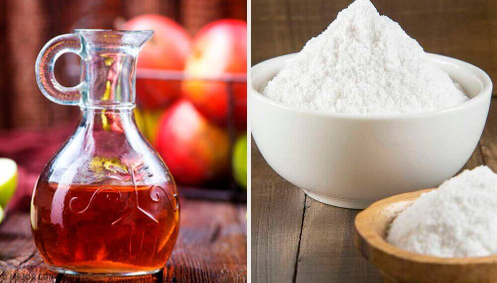 Remedies met baking soda en appelazijn