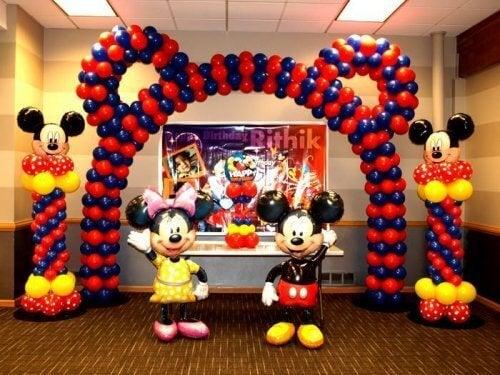 Versieren met ballonnen: kinderthema's