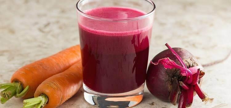 Recepten voor bloedarmoede: smoothie met rode biet