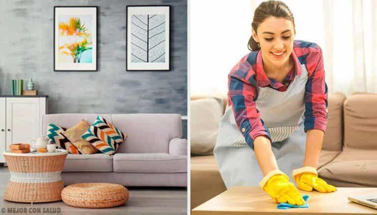 Je huis netjes houden met 5 gewoontes om schoon te maken
