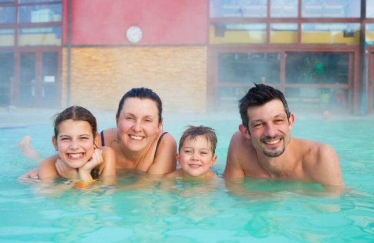 De gezondheidsvoordelen van een warmwaterbron