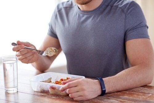 Verspreid je eten over 5 maaltijden