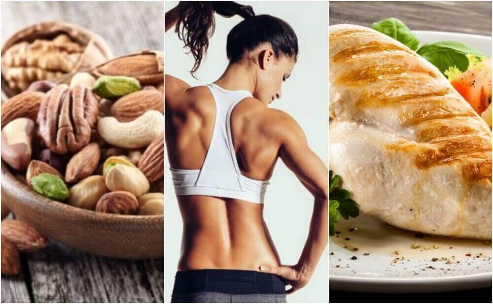 Effectief dieet voor goed gevormde spieren