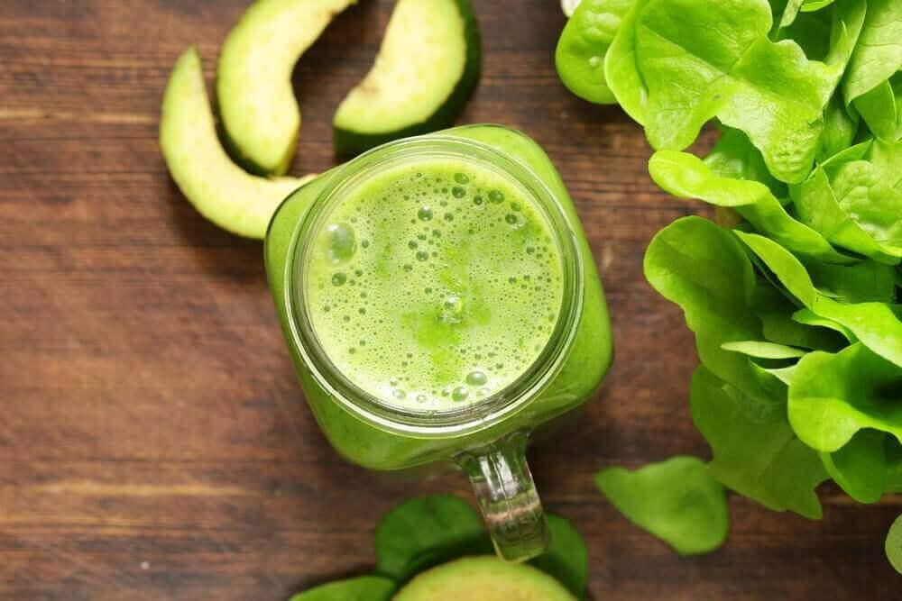 Goed gevormde spieren met een veganistisch dieet