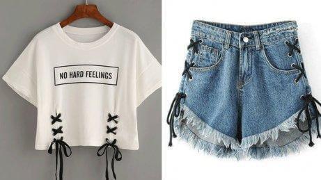 Hergebruikte kleding