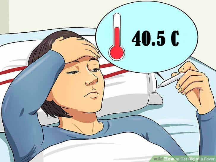 Wanneer wordt een te hoge lichaamstemperatuur ernstig beschouwd?
