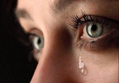 Huilen verlicht spanning en stress