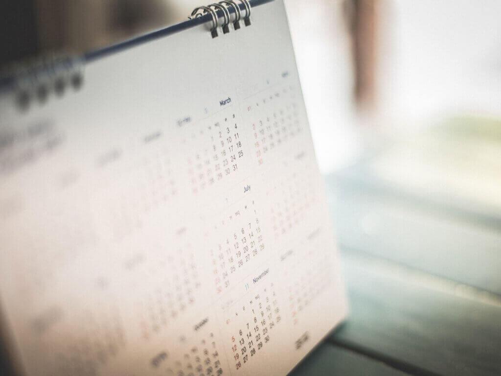 Kalender om prioriteiten te stellen als supermoeder