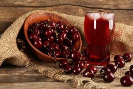 Kersen behoren tot de groep meest hydraterende fruitsoorten