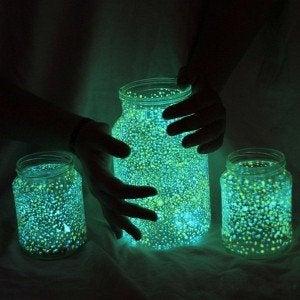 Hang kleine lampjes op