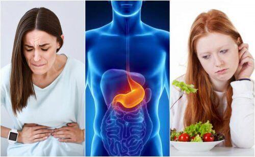 8 symptomen van maagzweren