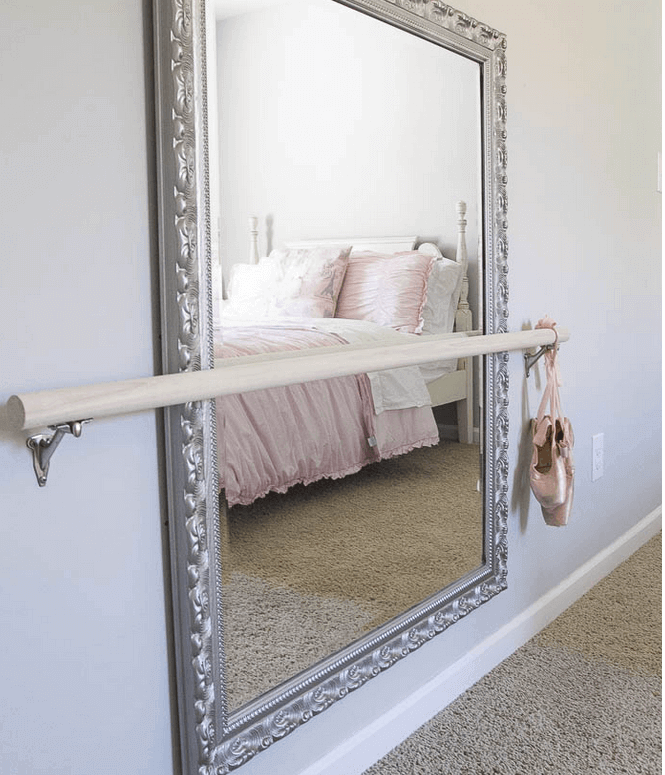 Spiegels in de slaapkamer