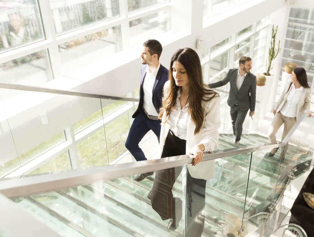 De trap nemen is één van de beste bewegingsvormen