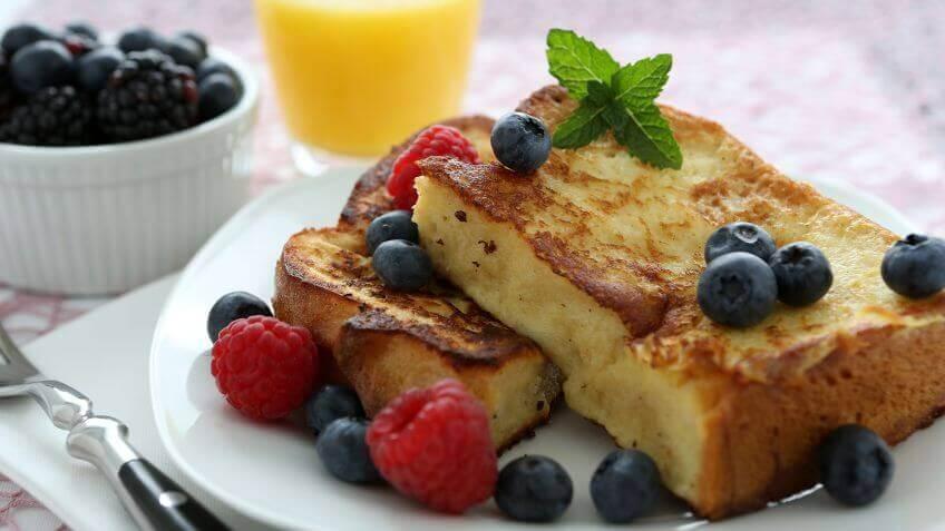 Een goed ontbijt voor goed gevormde spieren