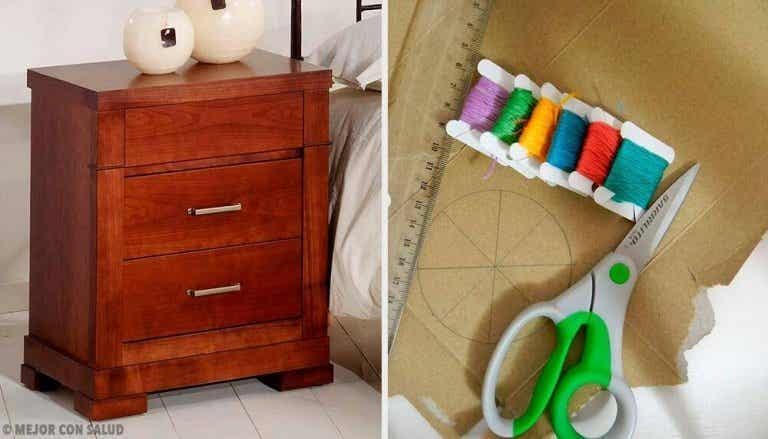 Vijf ontwerpen voor een origineel nachtkastje