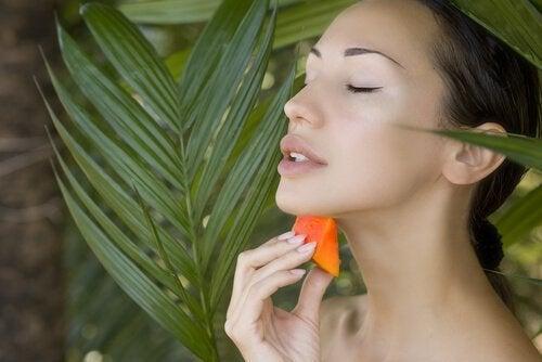 Papajazaden tegen acne