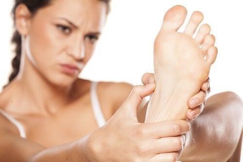 Pijn in de voeten door diabetische voet