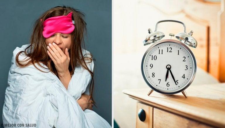 Zeven fouten die het 's ochtends wakker worden moeilijker maken