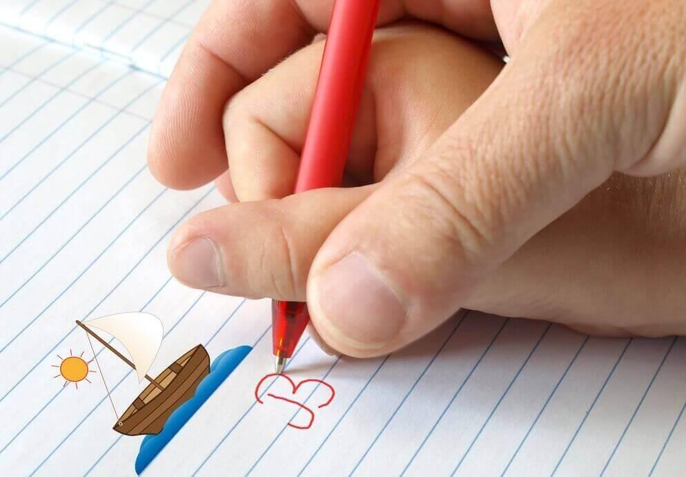 Leerproblemen van een kind: leren schrijven