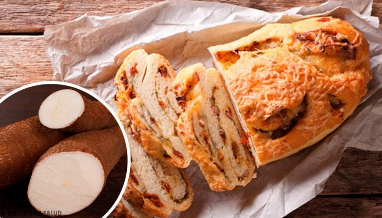Gluten-, lactose- en suikervrij brood van cassave
