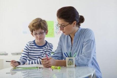Leerproblemen van een kind: privéles