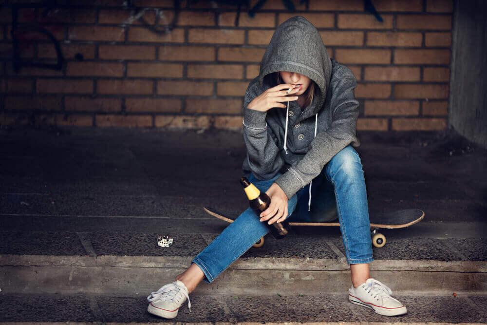 Tieners en drugs