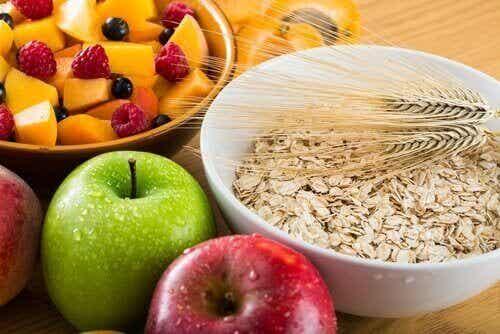 Vezelrijk voedsel dat kan helpen bij het afvallen