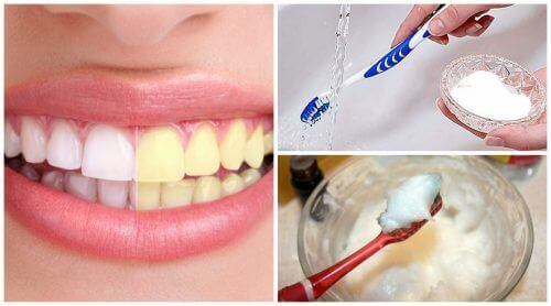 Zuiveringszout om je tanden witter te maken
