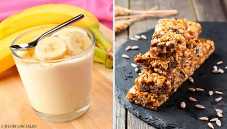 10 recepten voor het ontbijt om in vorm te raken
