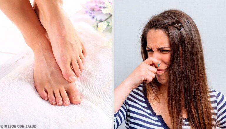 11 manieren om de geur van zweetvoeten te bestrijden