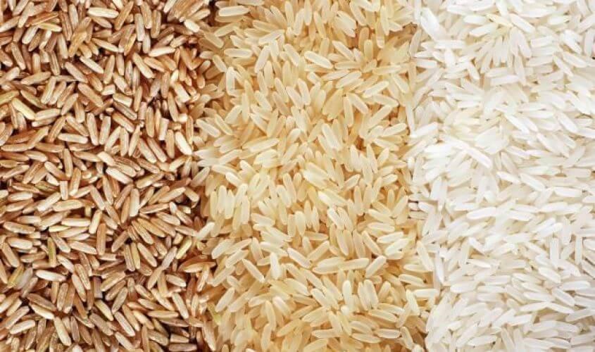 3 kleuren rijst