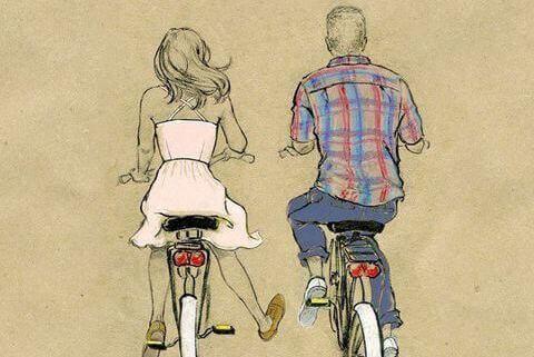 Een fiets in je vintagekamer