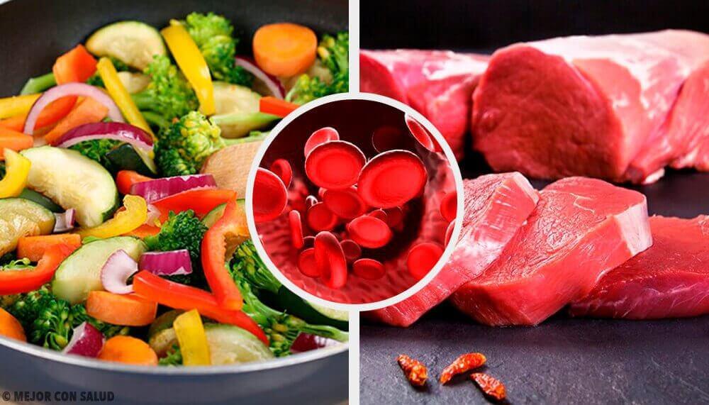 Hoe zorg je door middel van je voeding voor een normaal hemoglobinepeil?