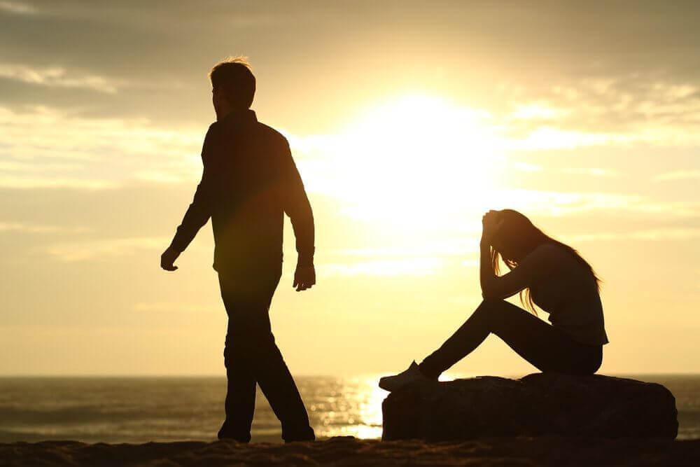 Scheidingen waarbij de ene partner ontrouw is