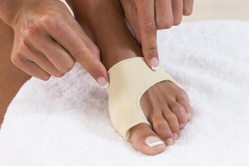 Correctoren voor het verwijderen van eeltknobbels op je voeten