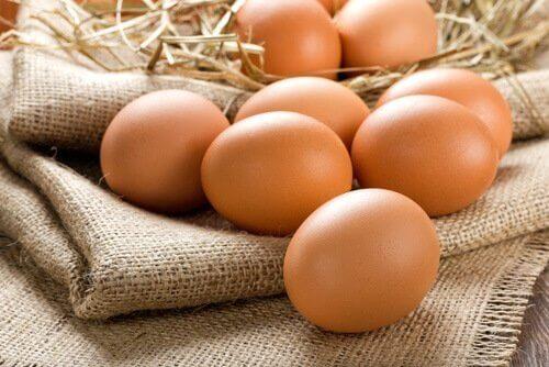 Eieren zijn een must om af te vallen