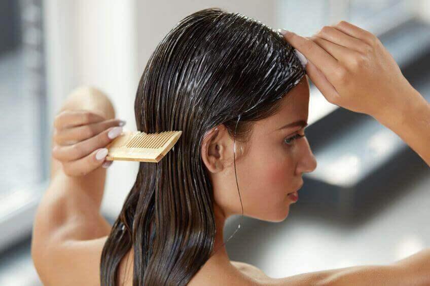 Gebruik regelmatig haarmaskers
