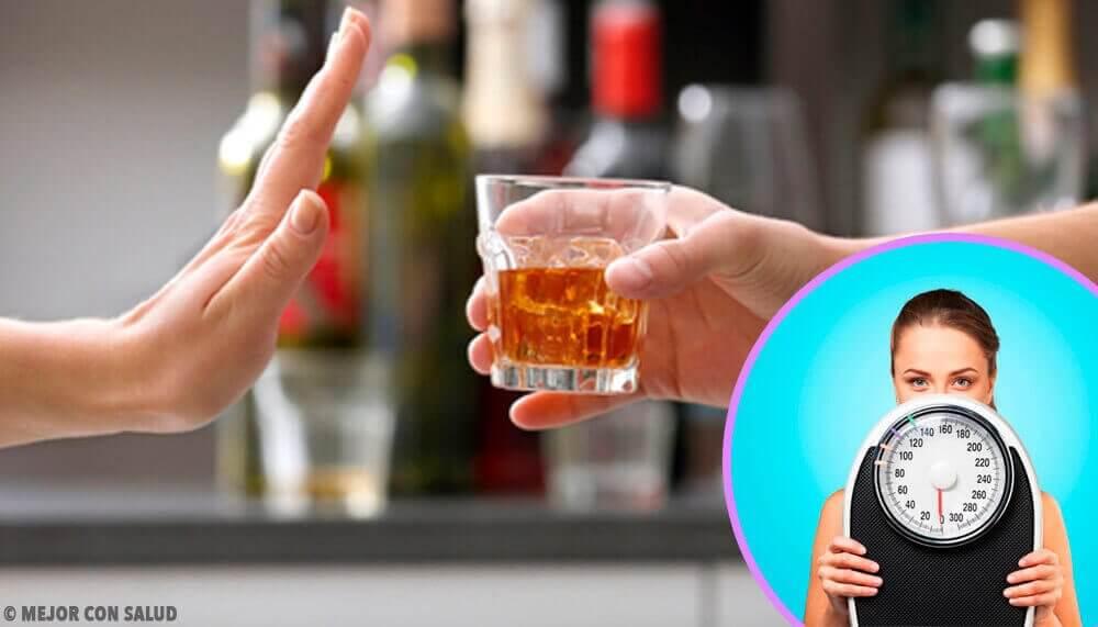 Moet je het drinken van alcohol opgeven om af te vallen?