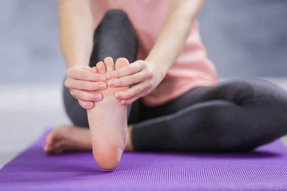 Masseer je voeten