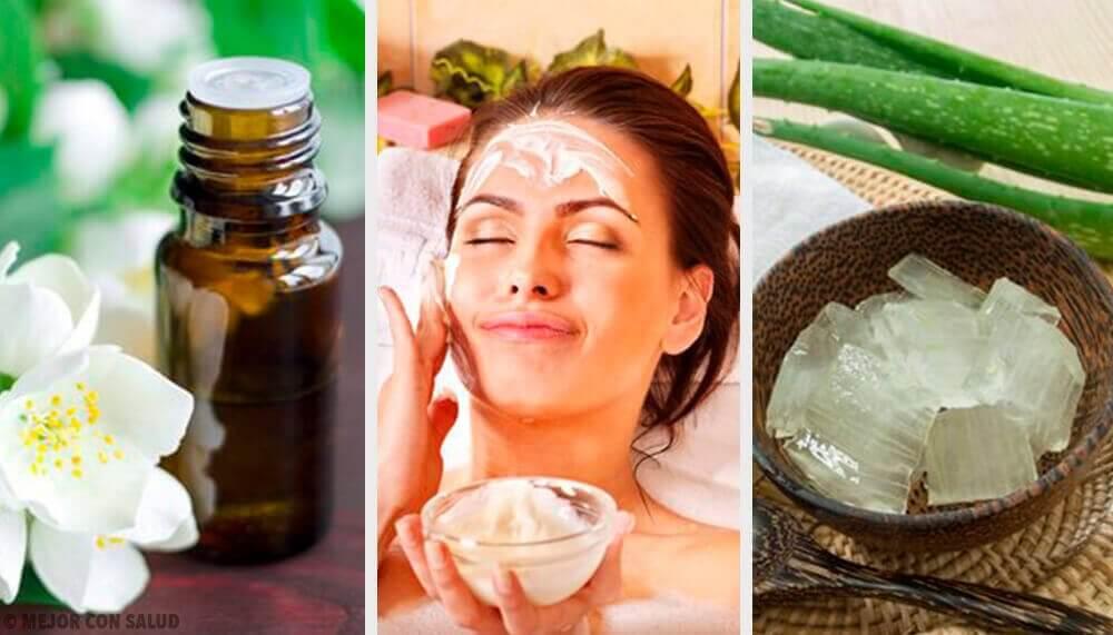Het behandelen van een droge huid op een natuurlijke wijze