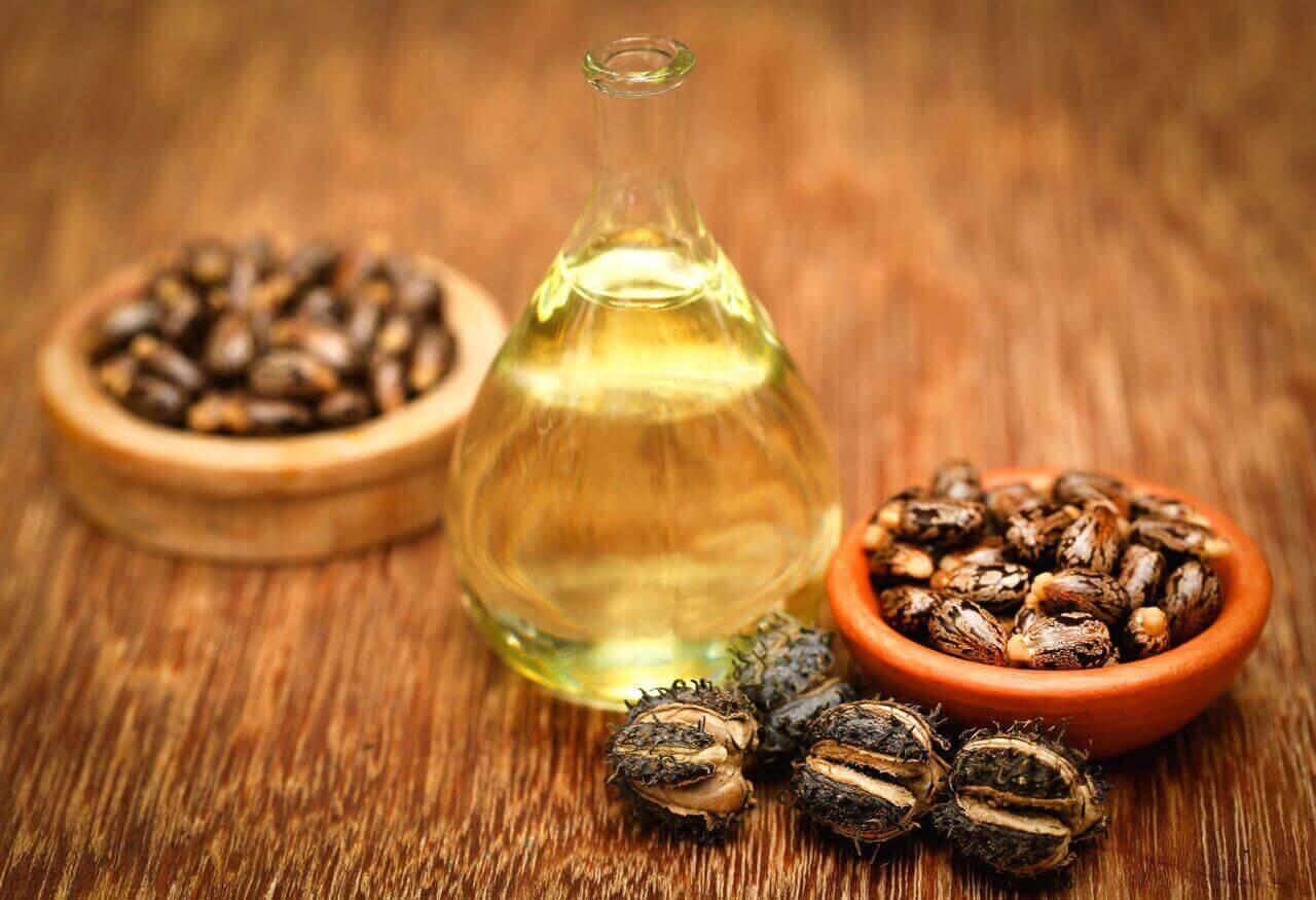 Olijfolie en castornoten