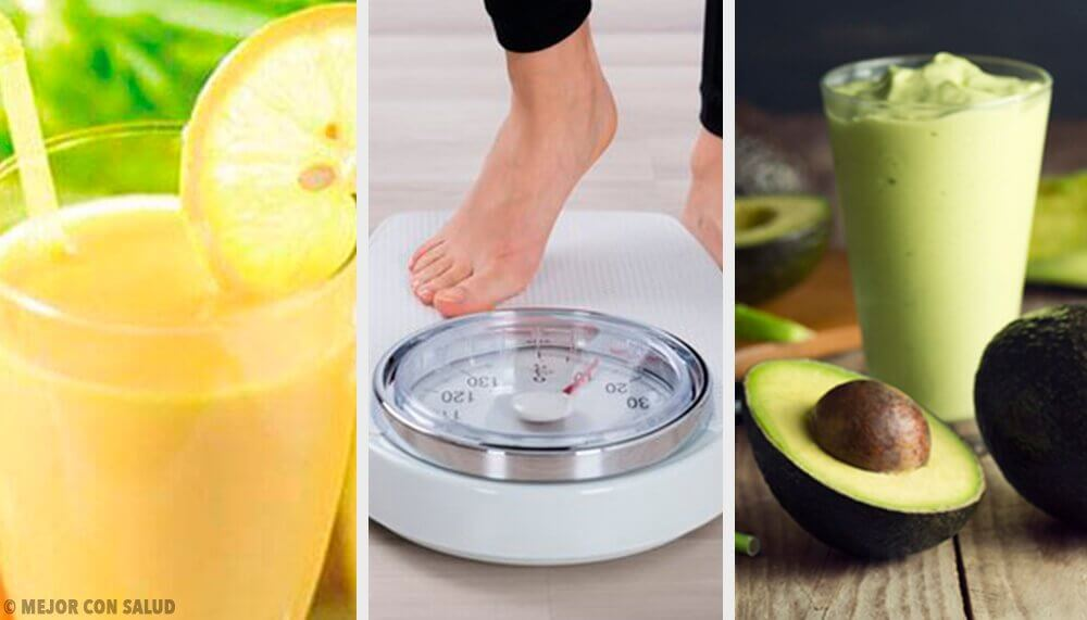 5 eenvoudige recepten voor drankjes om gewicht te verliezen