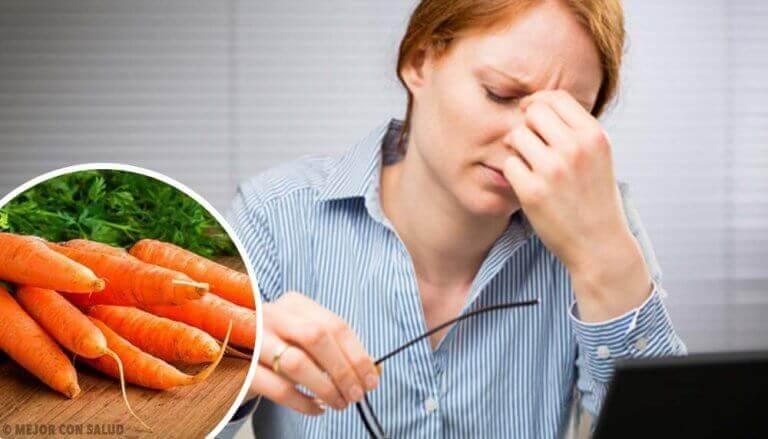 Een goed gezichtsvermogen behouden met oefeningen en voedingsmiddelen