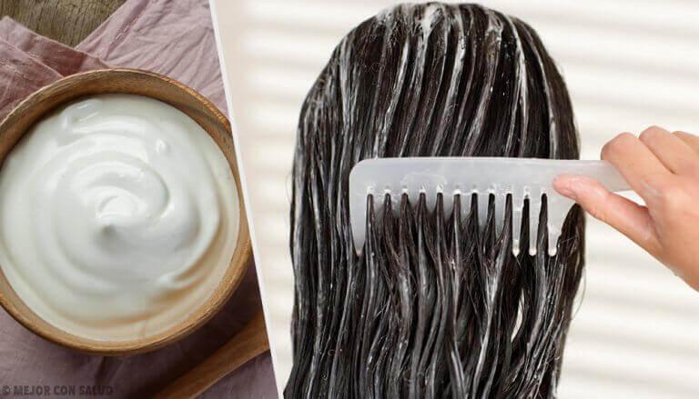 Maak een haarmasker met mayonaise voor prachtig mooi haar